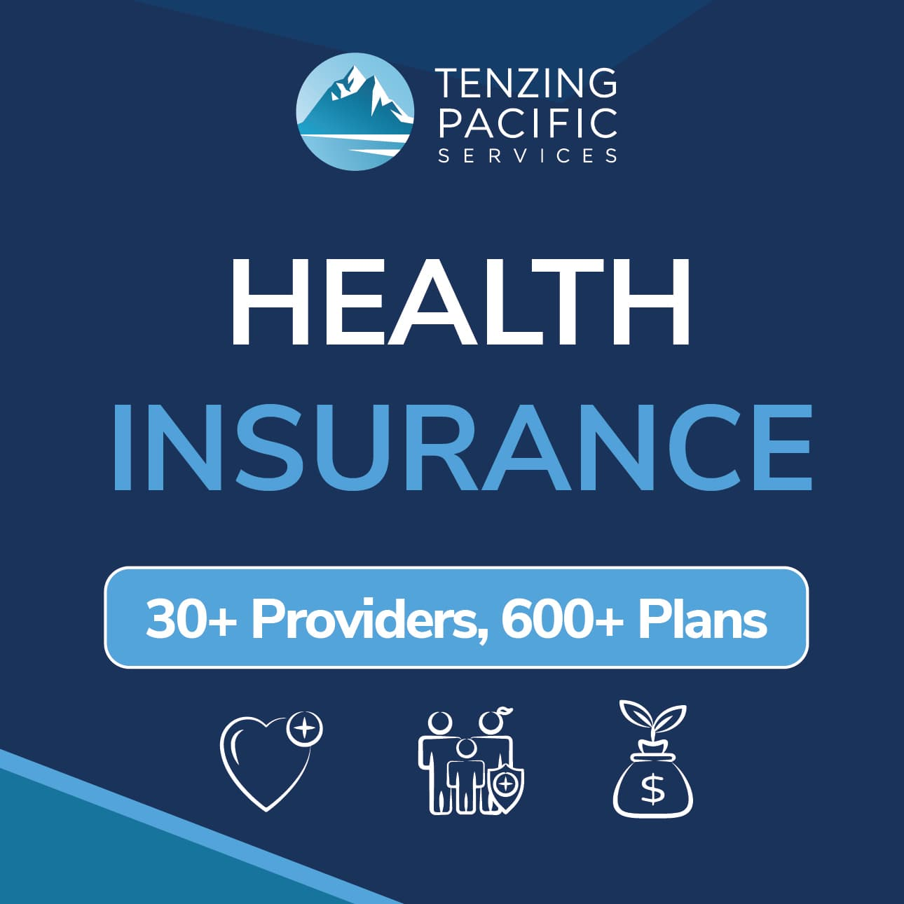 Health Insurance Tenzing Pacific Services square