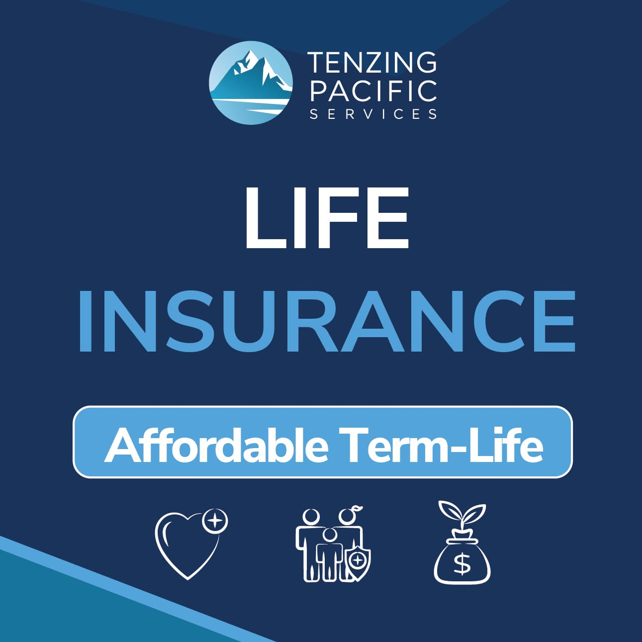 Life Insurance Tenzing Pacific Services square