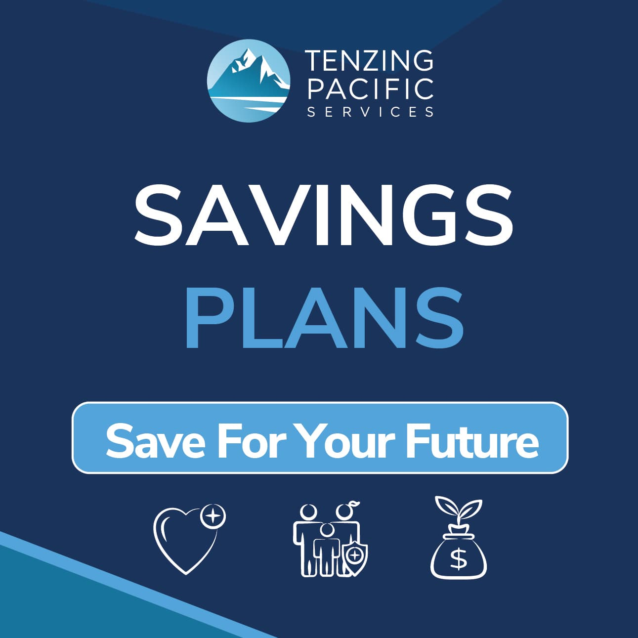 Savings Plans Tenzing Pacific Services square