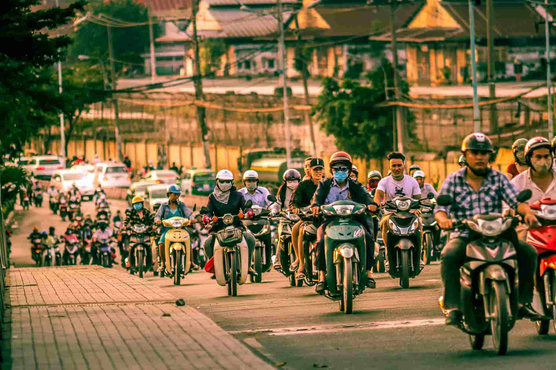 Vietnam traffic 2
